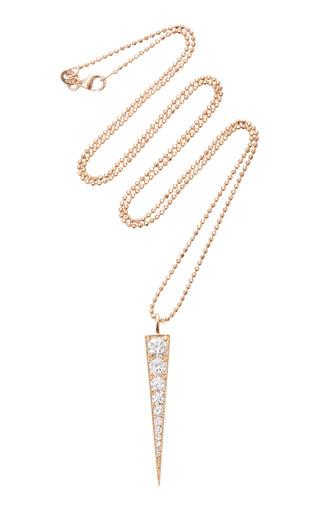 Medium anita ko pink dagger pendant