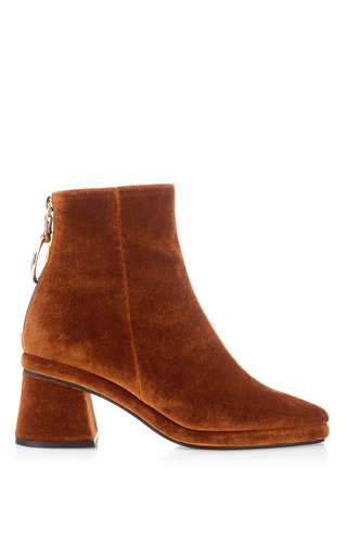 Medium reike nen brown ring slim ankle boot
