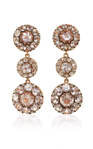 Medium selim mouzannar pink beirut earrings