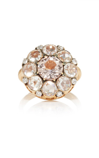 Medium selim mouzannar pink beirut ring