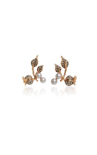 Medium colette jewelry llc pink cynara earrings