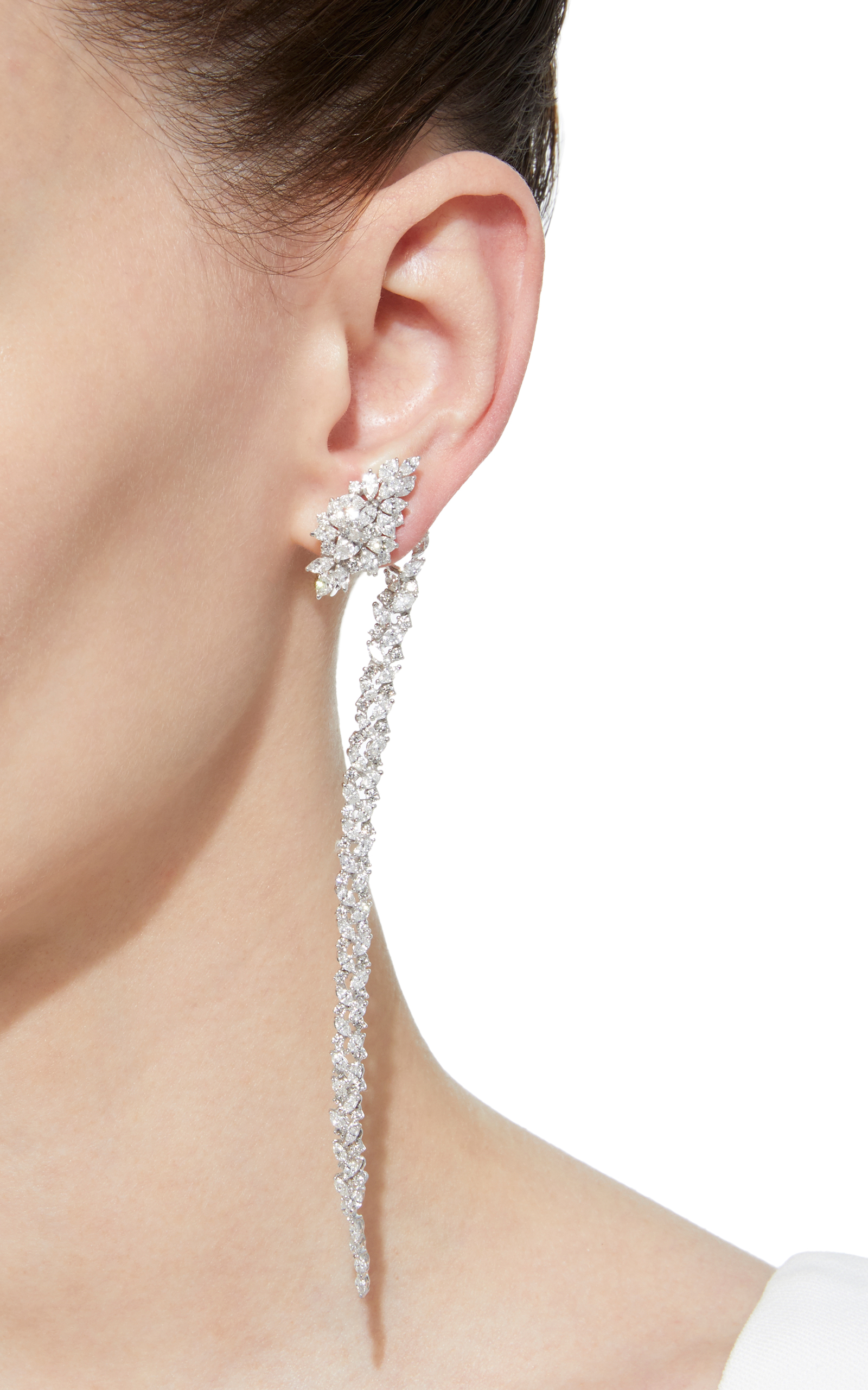 mismatched style wear off anyone can pull fashion beauty earrings