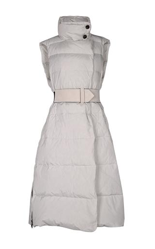Medium dorothee schumacher neutral sleek surface coat