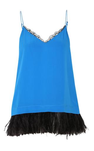 Medium dorothee schumacher blue linear seduction top