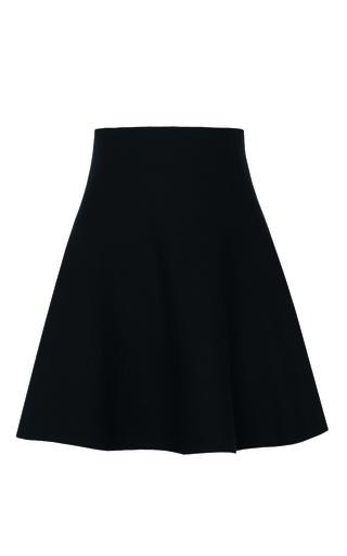 Medium dorothee schumacher black structure love skirt