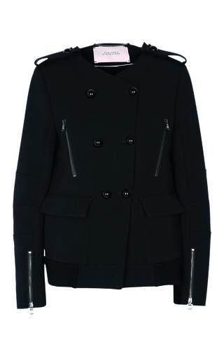 Medium dorothee schumacher black structure love jacket