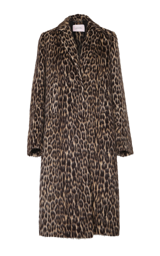 Medium dorothee schumacher animal leopard luxury coat