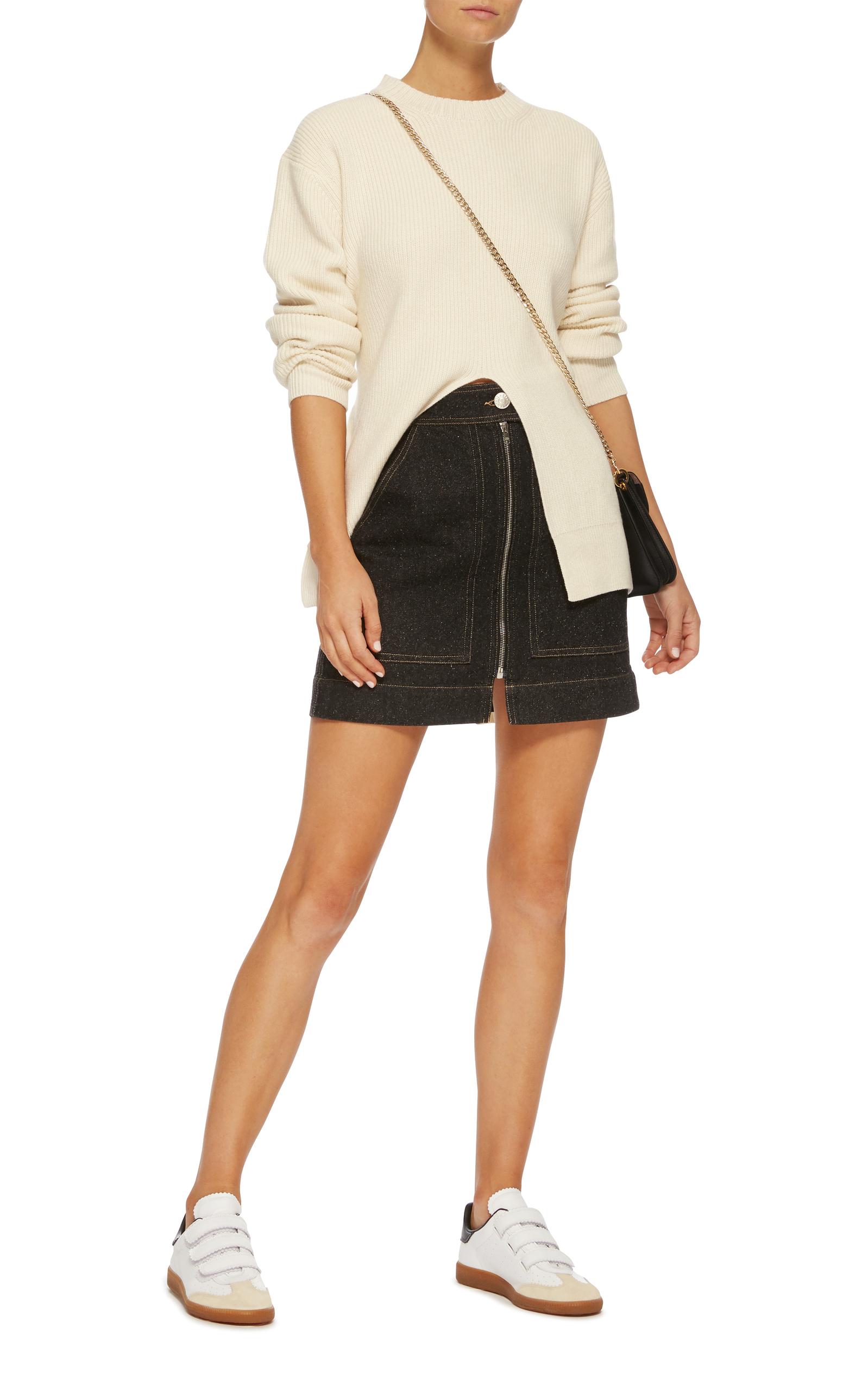 f17adb0741 Isabel MarantBeth Stripe Leather Sneakers. CLOSE. Loading. Loading