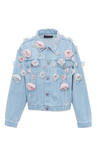 Medium anouki blue floral denim jacket