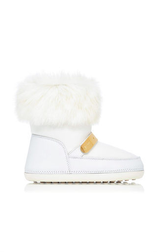 Medium giuseppe zanotti white snow boot