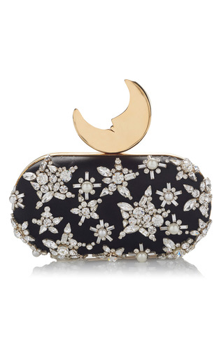 Medium benedetta bruzziches black smiling moon clutch