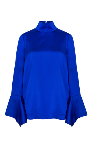 Medium paper london blue rufus flared top
