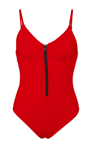 Medium onia red arianna one piece swimsuit