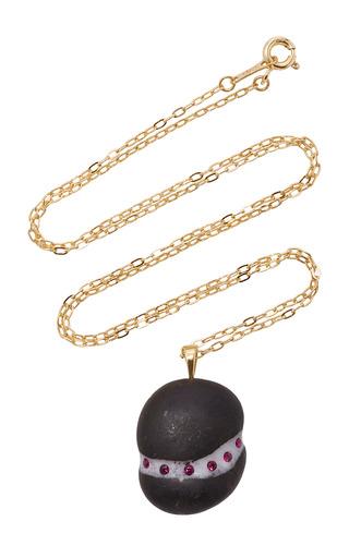 Medium cvc stones black babe necklace