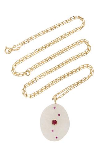 Medium cvc stones white dolcina necklace