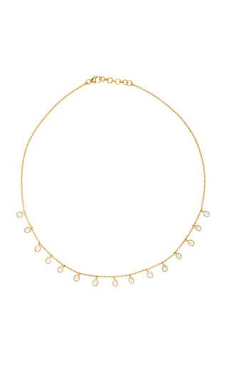 Medium theodora warre gold gold plated topaz necklace