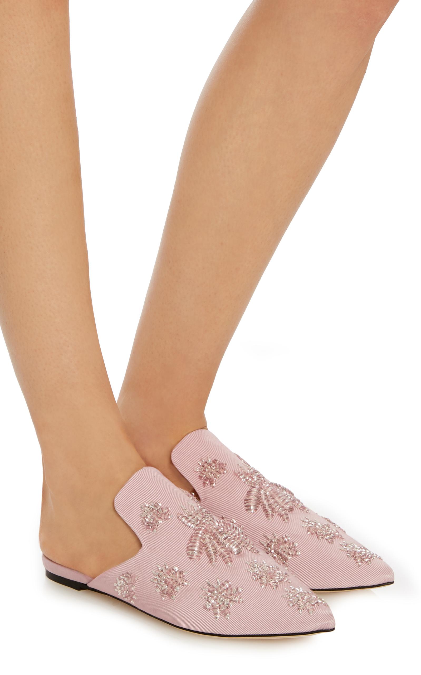 c9e7212d1901 Sanayi 313Rango Embroidered Woven Slippers. CLOSE. Loading
