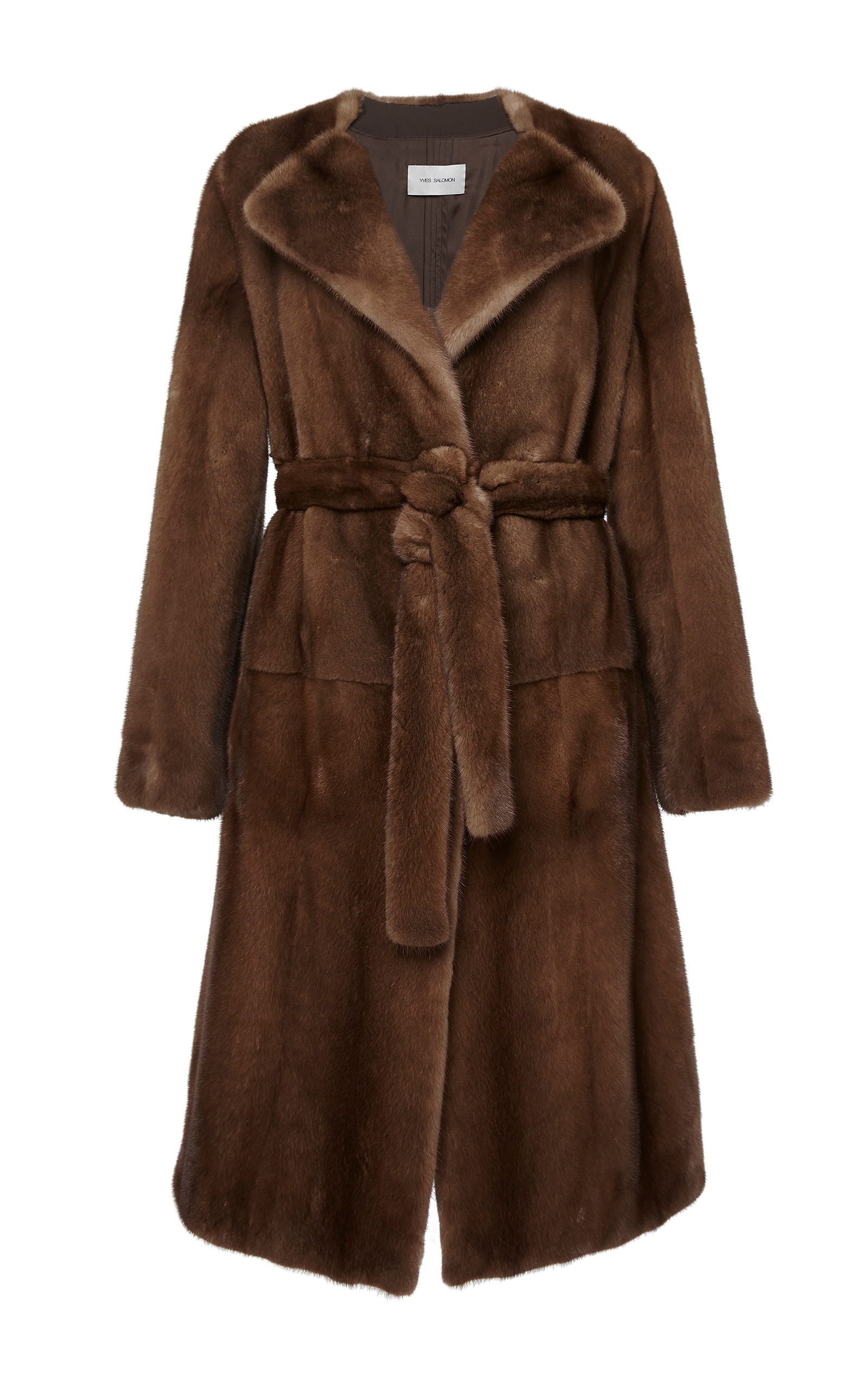9817734cd68f Yves Salomon ParisMink Coat. CLOSE. Loading