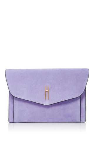 Medium hayward purple bobby clutch 3