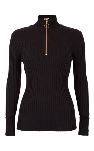 Medium baum und pferdgarten black cleta zip sweater