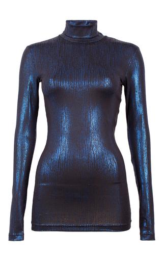 Medium baum und pferdgarten blue jamia metallic blouse