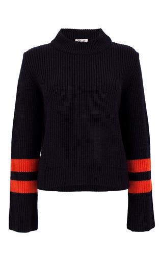 Medium baum und pferdgarten navy cybil ribbed sweater