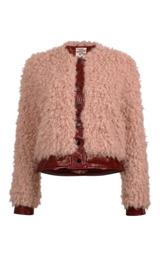Medium baum und pferdgarten red berwyn shearling jacket