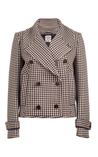 Medium baum und pferdgarten plaid birkita double breasted jacket