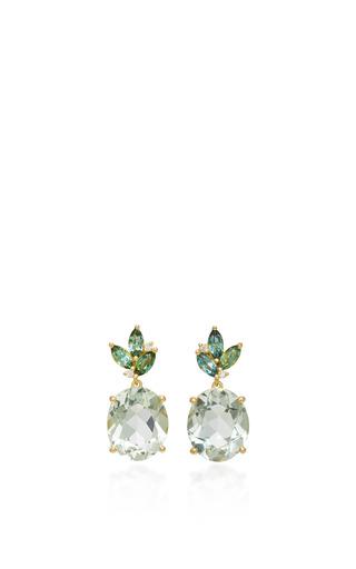 Medium jamie wolf gold floral drop earring