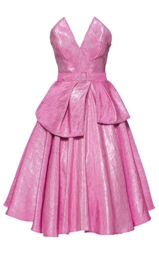 Medium lena hoschek pink bonbon bustier dress