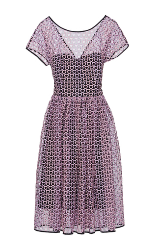 Medium lena hoschek pink embroidered love at first sight dress