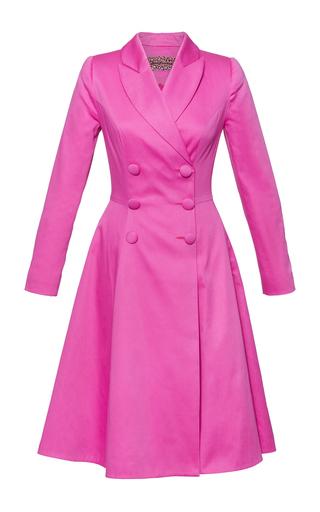 Medium lena hoschek pink attention coat dress