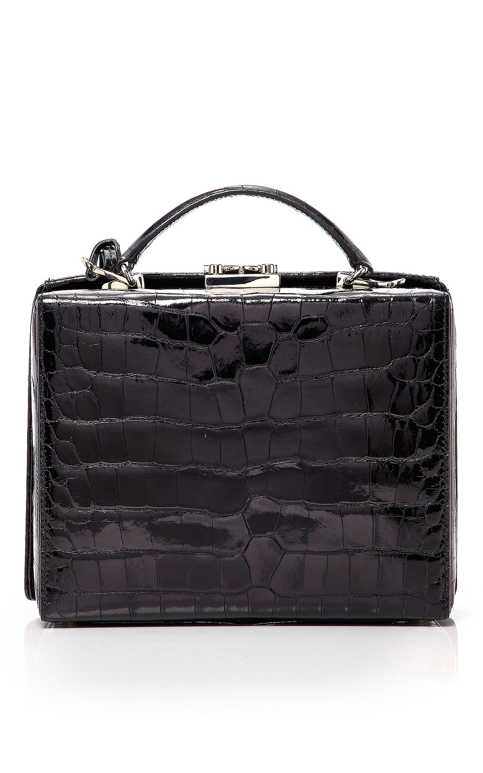 809d65870644 Mark CrossCrocodile Grace Large Box Bag. CLOSE. Loading. Loading. Loading.  Loading