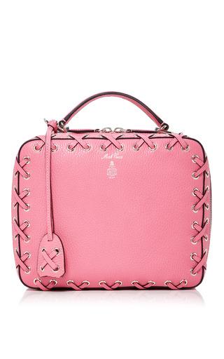 Medium mark cross pink laced laura bag