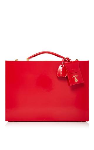 Medium mark cross red brush off 40cm grace suitcase