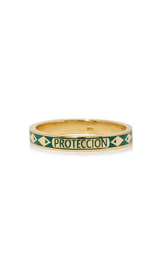 Medium foundrae green protection thin band