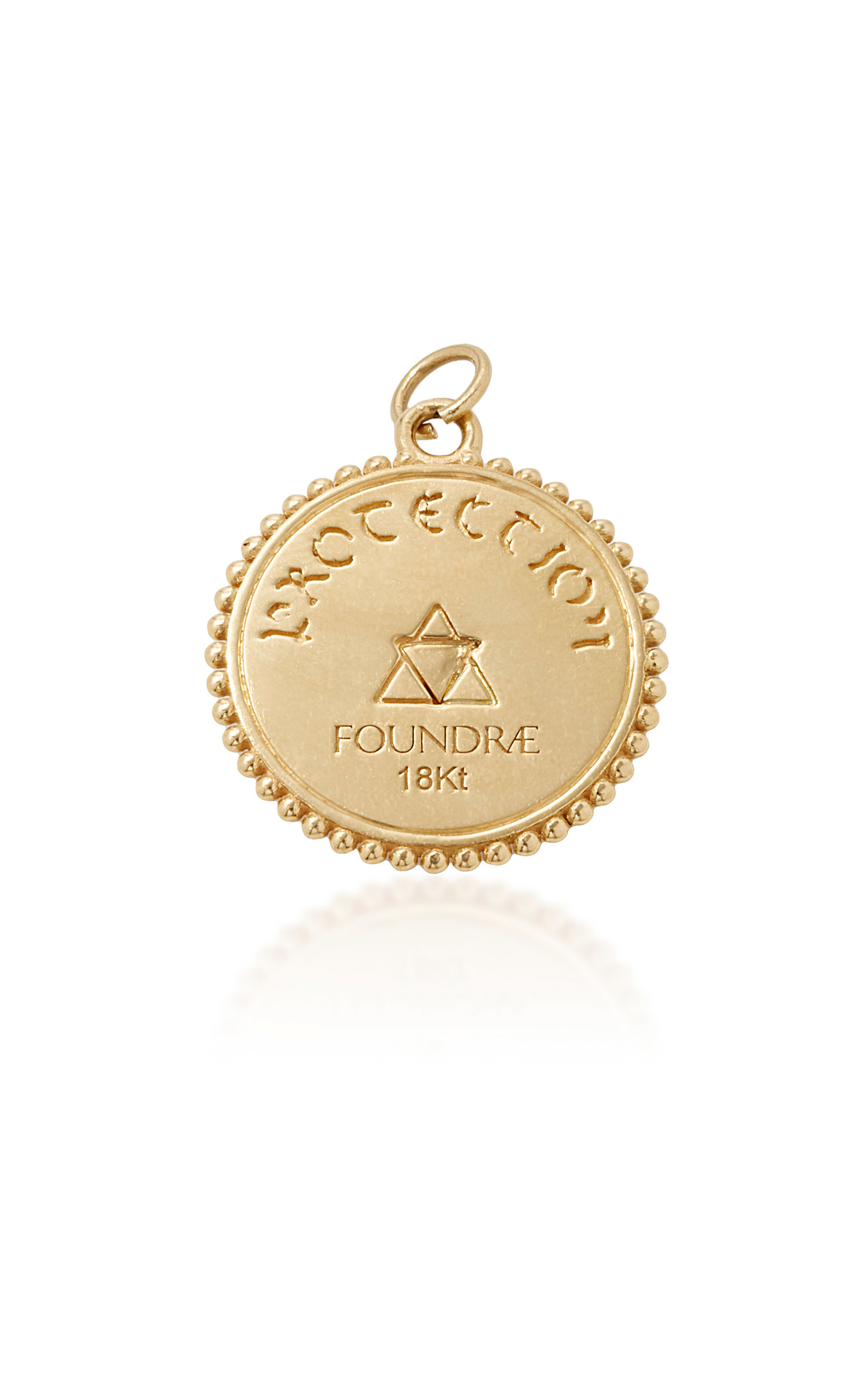 medallion medal kay st view charm gold yellow large mv en kaystore michael zm