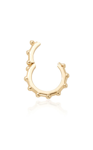 Medium foundrae gold dotted annex link