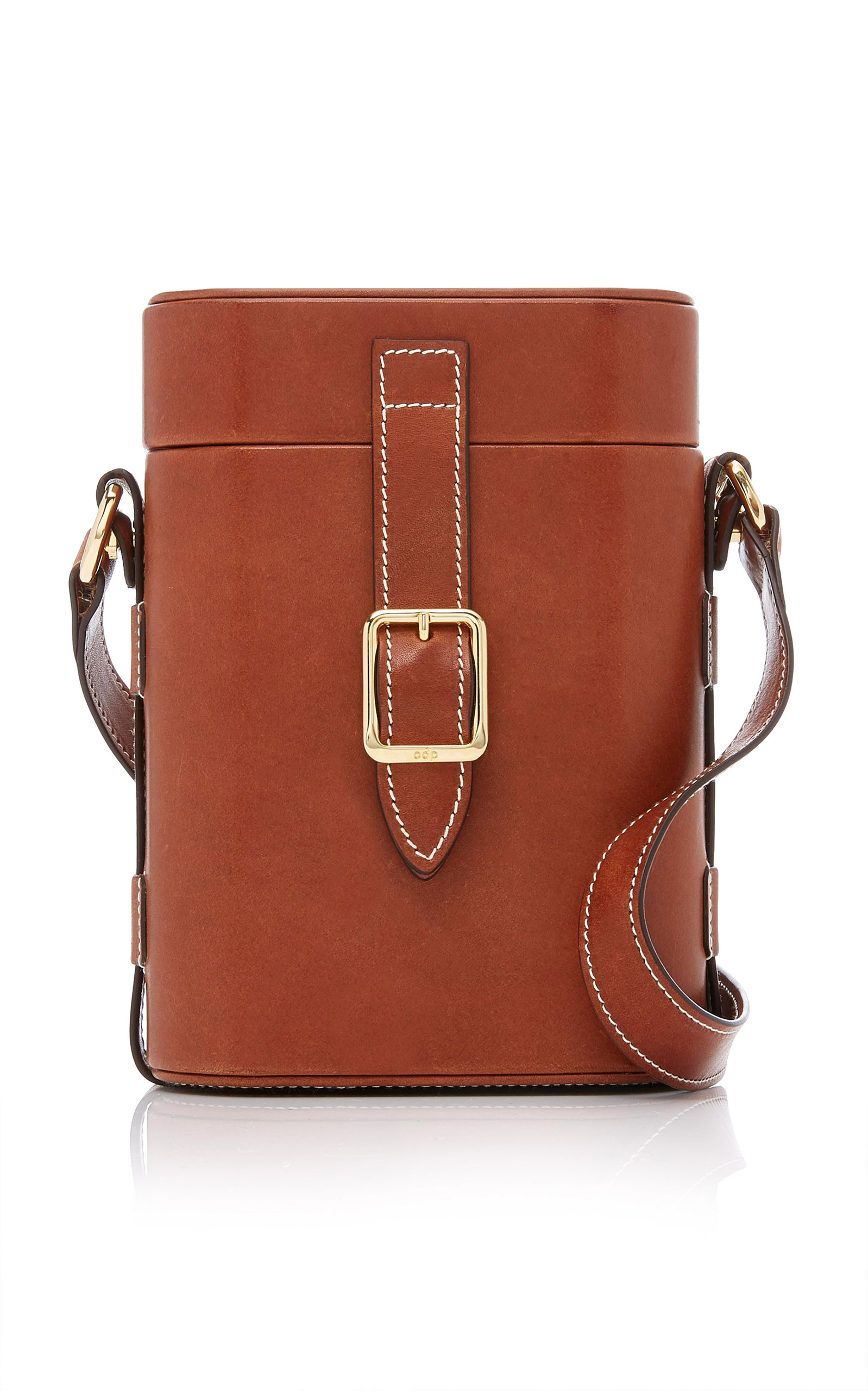 Nero Snakeskin Mini Safari Crossbody Officina del Poggio