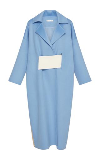 Medium rejina pyo blue kate oversized wool coat