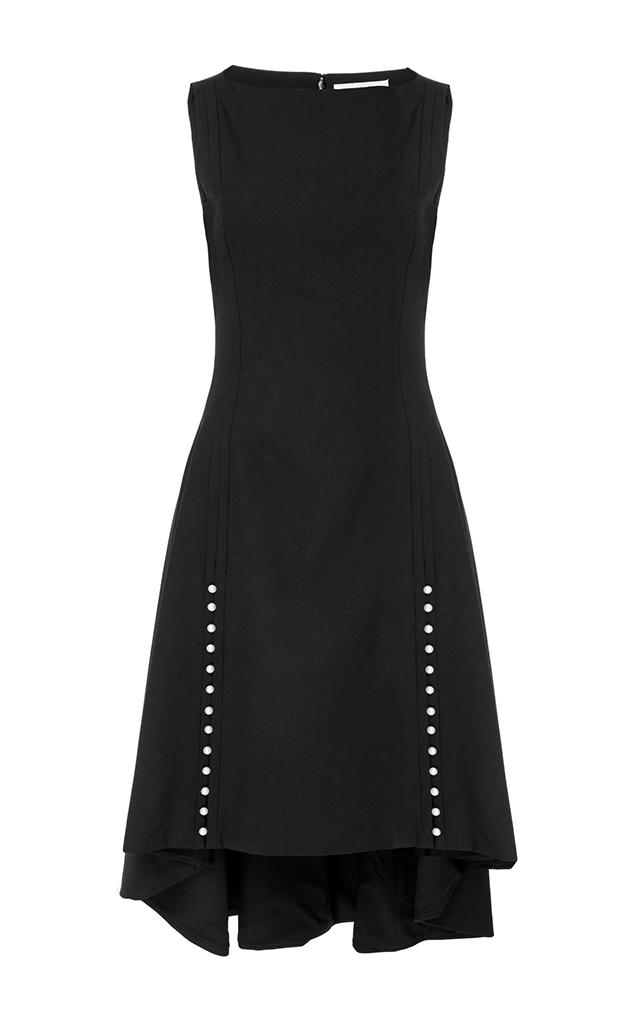 Pearl Button Dress
