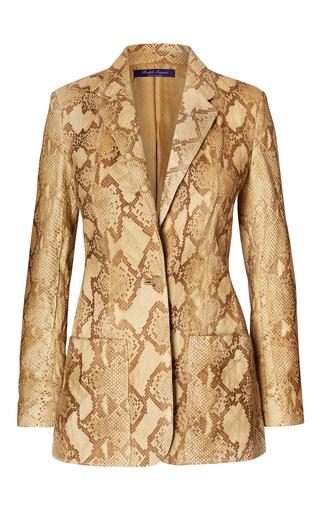 Medium ralph lauren python augustine python jacket