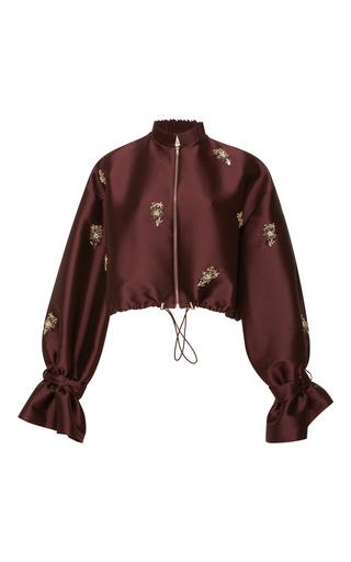 Medium sachin babi burgundy embroidered bayi jacket