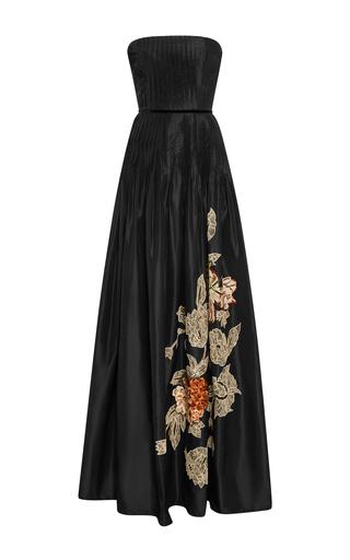 Medium sachin babi black shimla embroidered gown