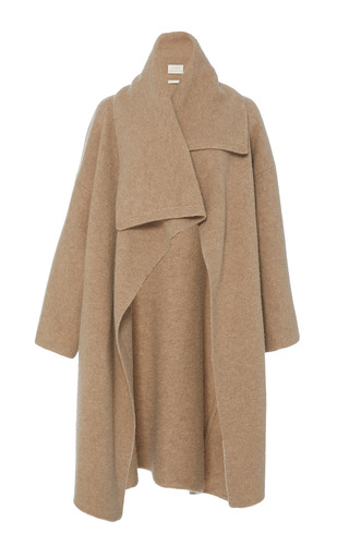 Medium lauren manoogian brown cashmere blanket coat
