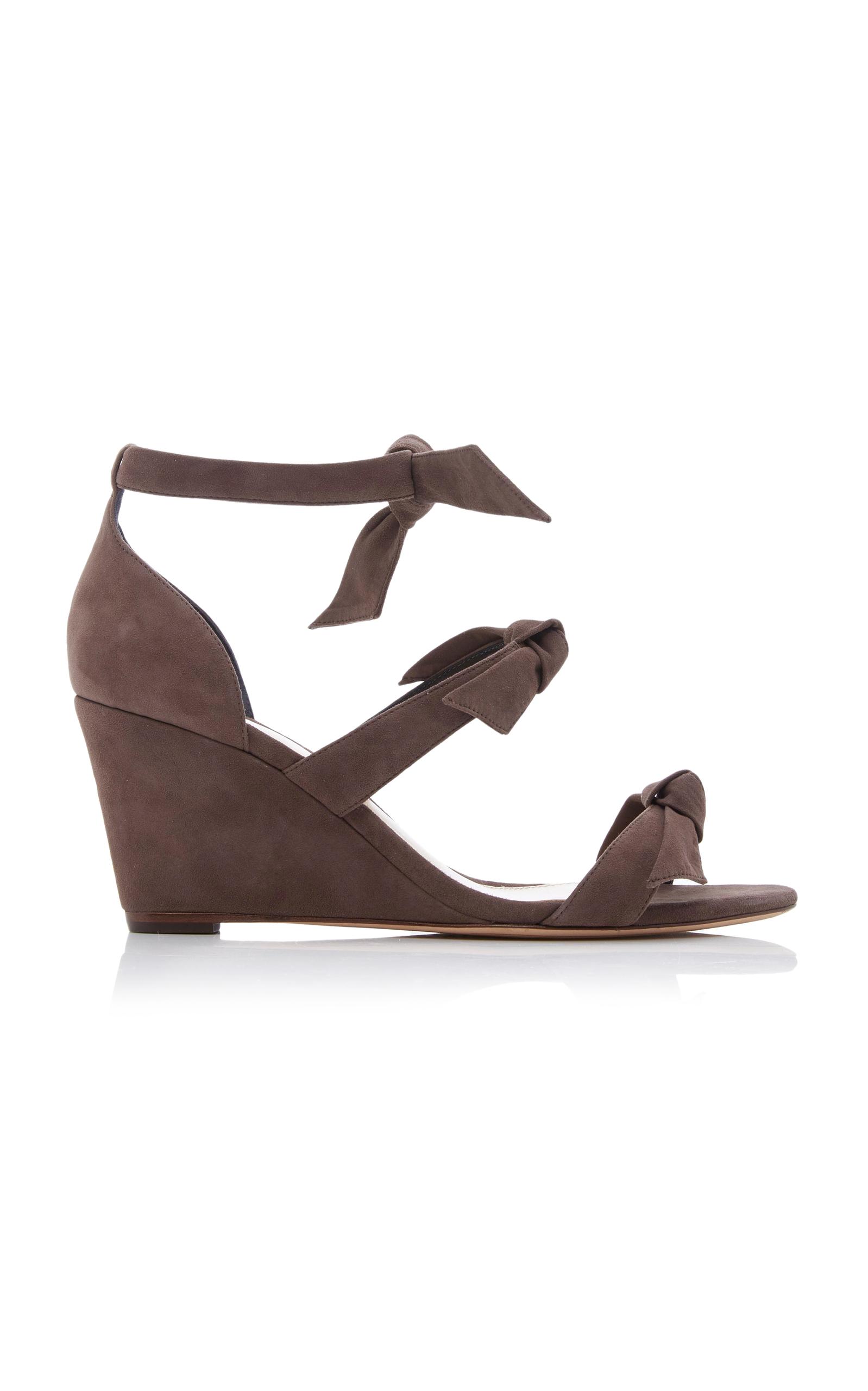 newest Alexandre Birman Gianna Suede Sandals buy cheap Cheapest qTaTs