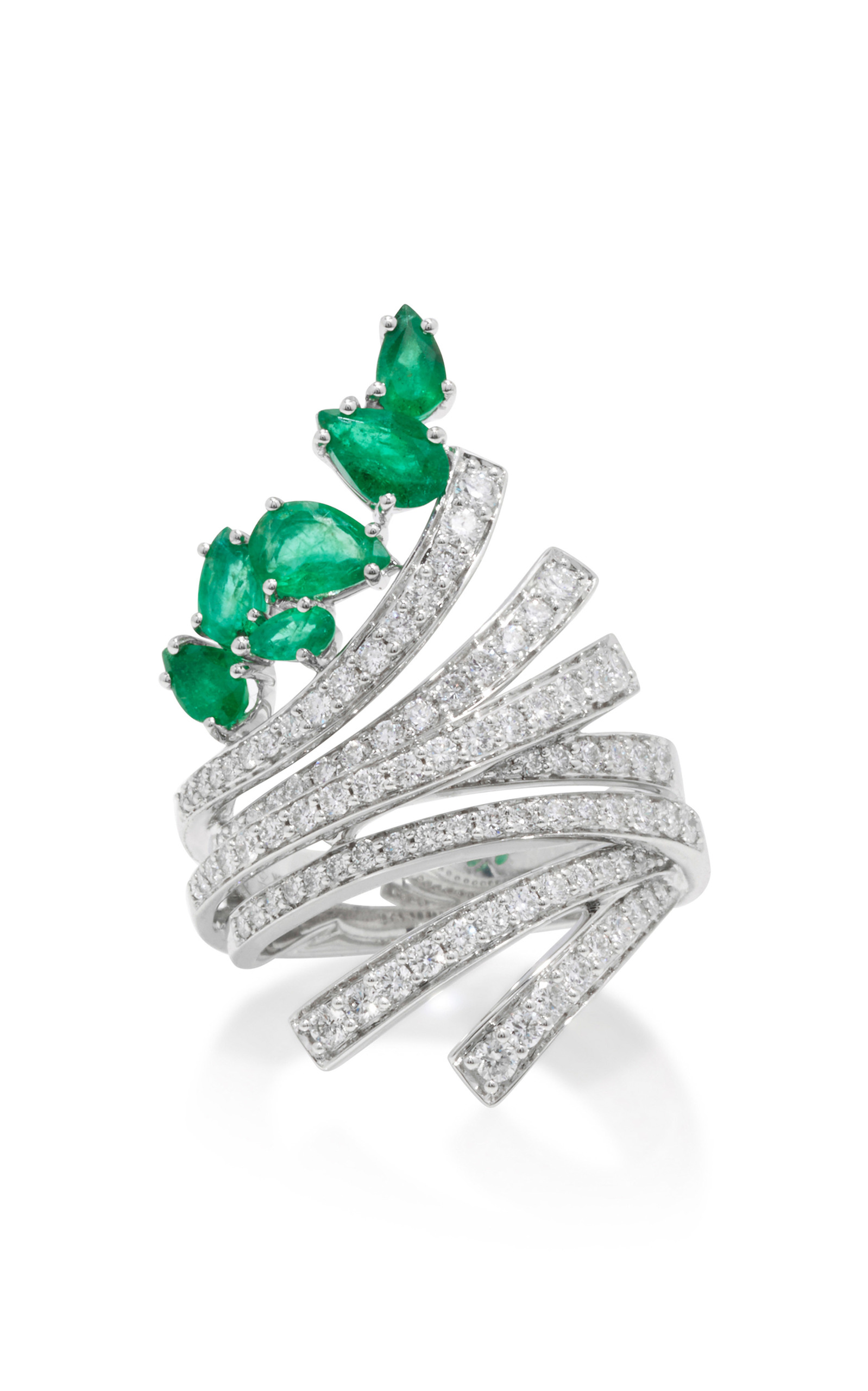 with earrings diamonds chatham cultured emerald created tw white in gold