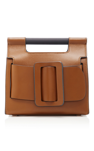 Medium boyy brown romeo top handle