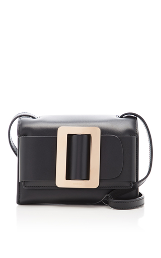 Medium boyy black fred clutch