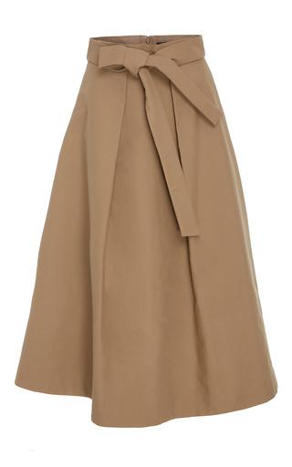Medium co neutral compact cotton skirt